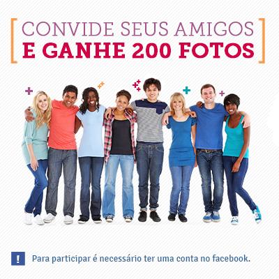 """Promoção """"Ganhe até 200 fotos""""!"""
