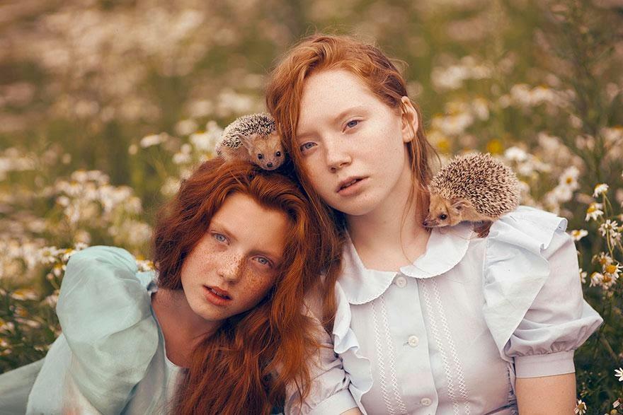 Ela registrou essas fotos impressionantes com animais vivos! 13