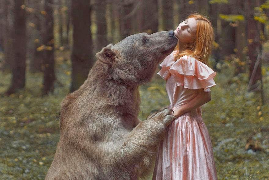 Ela registrou essas fotos impressionantes com animais vivos! 15