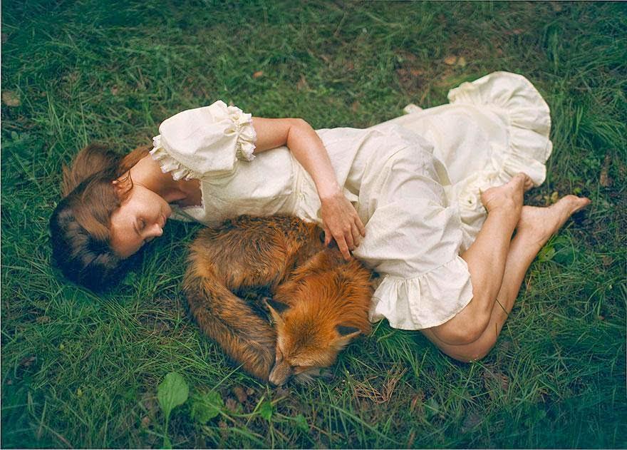 Ela registrou essas fotos impressionantes com animais vivos! 16 (1)