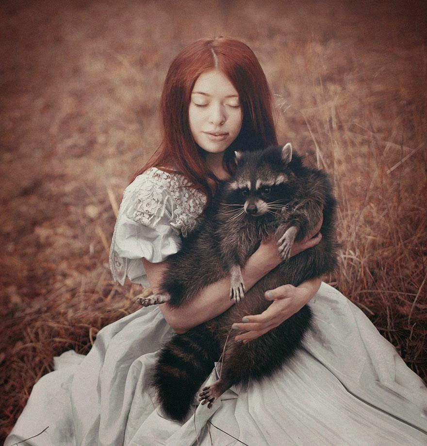 Ela registrou essas fotos impressionantes com animais vivos! 2