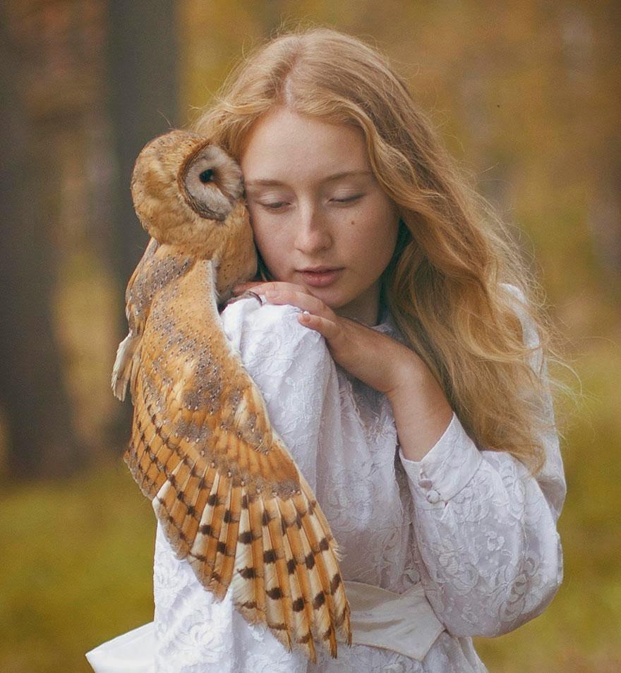 Ela registrou essas fotos impressionantes com animais vivos! 3