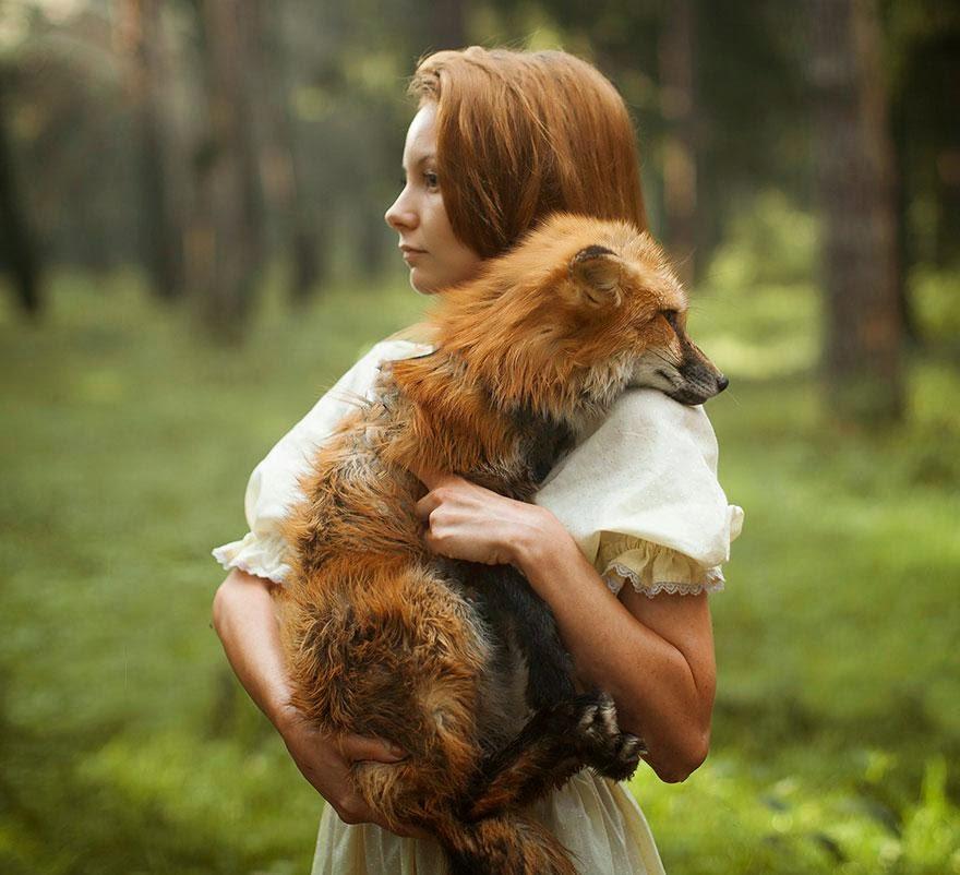 Ela registrou essas fotos impressionantes com animais vivos! 4