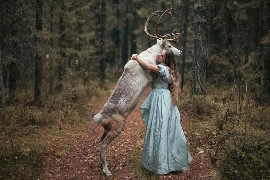 Ela registrou essas fotos impressionantes com animais vivos! 8
