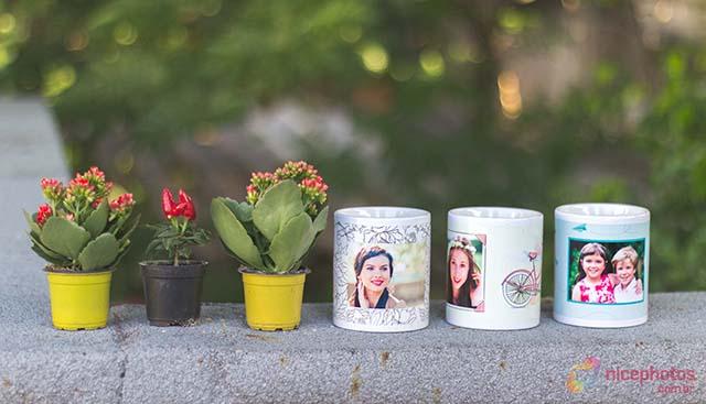 Faça você mesma: Decoração com canecas e flores!