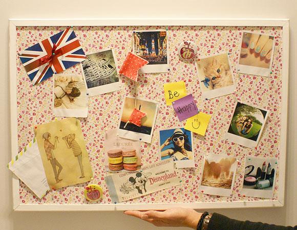 Faça você mesma: Mural de fotos personalizado