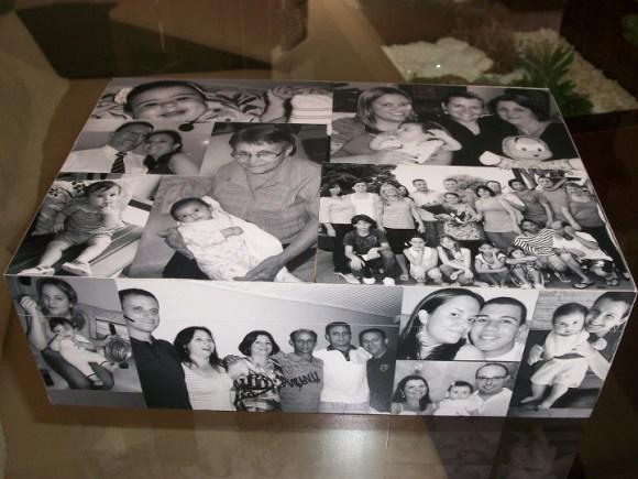Caixa decorada com fotos: aprenda a fazer!