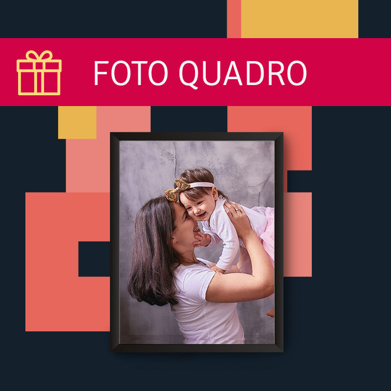 Dica de Presente Dia das Mães - Foto quadro