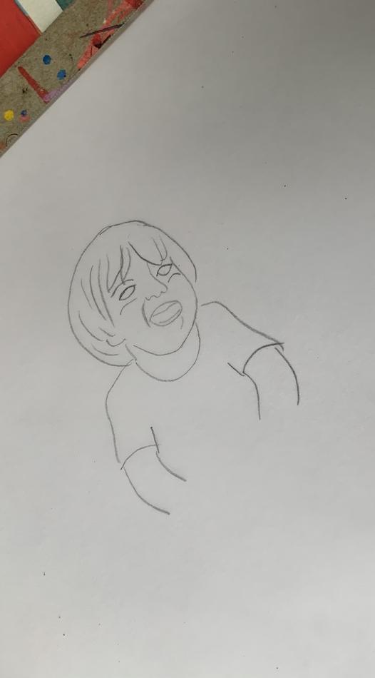 Transformando foto em personagem de desenho 02