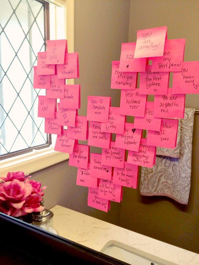 Dia dos Namorados Mensagem PostIt