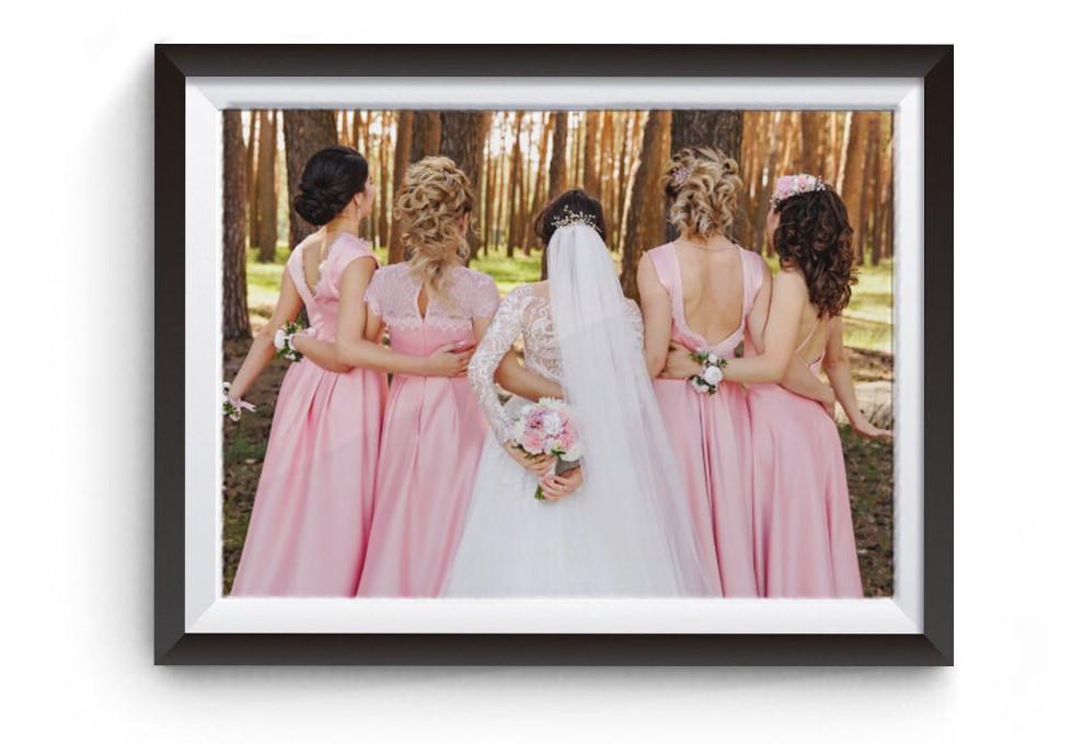 madrinhas de casamento foto quadro - Copia